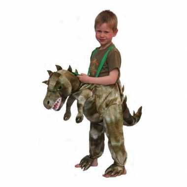 Kinder verkleedkleding dinosaurus tip