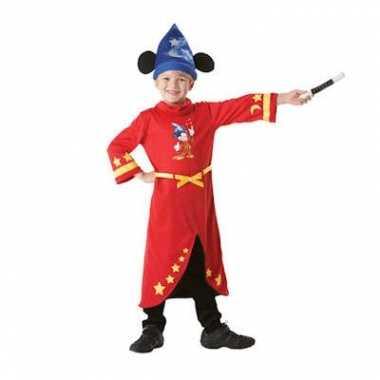Kinder verkleedkleding tovenaar Mickey tip