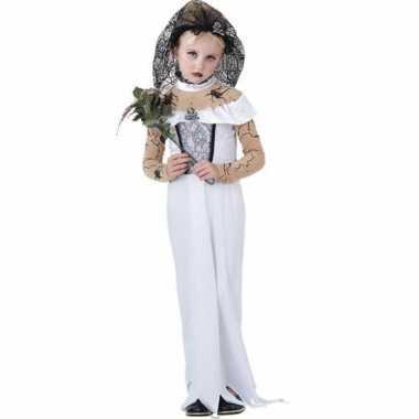 Kinder verkleedkleding zombie bruid tip
