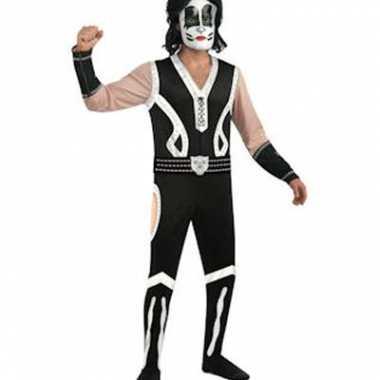 Kiss verkleedkleding Eric Singer tip
