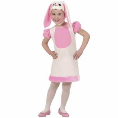 Kleuter Carnavalsverkleedkleding konijn tip