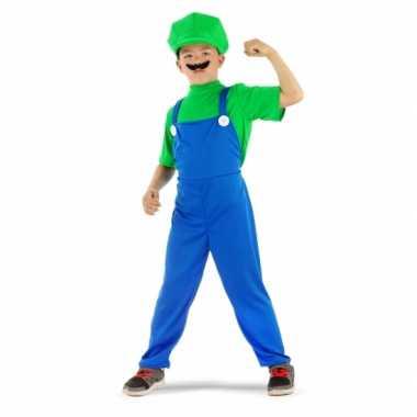Loodgieter verkleedkleding groen jongens tip