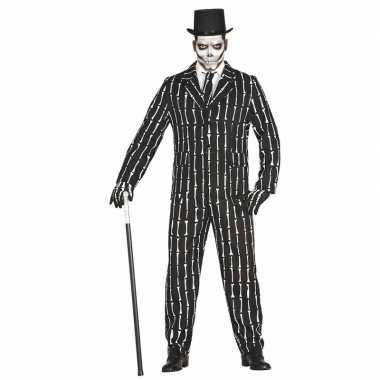 Luxe heren verkleedkledings botten opdruk tip