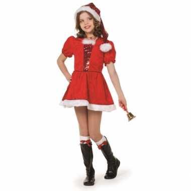 Luxe kerstmis verkleedkleding meiden tip