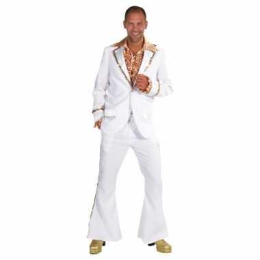 Luxe witte carnavals verkleedkleding mannen tip