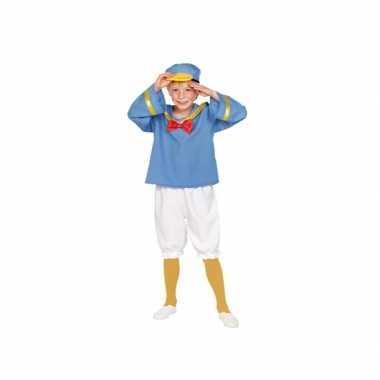Matrozen eend kinder verkleedkleding tip