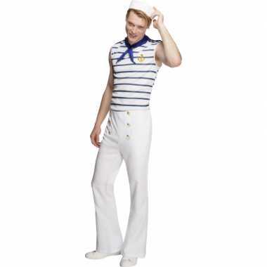 Matrozen verkleedkledingje heren tip