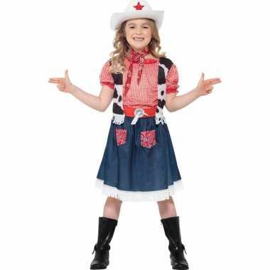 Meisjes verkleedverkleedkleding cowgirl tip