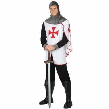 Middeleeuwse kruistocht ridder verkleed verkleedkleding heren tip