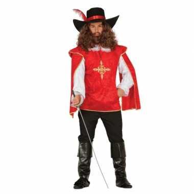 Musketiers verkleedkledings heren tip