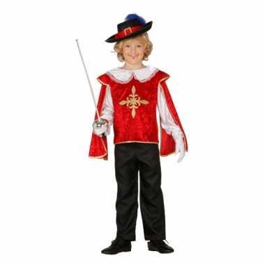 Musketiers verkleedkledings jongens tip