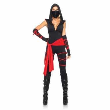 Ninja dames verkleedkleding tip