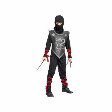 Ninja verkleedkleding kind tip