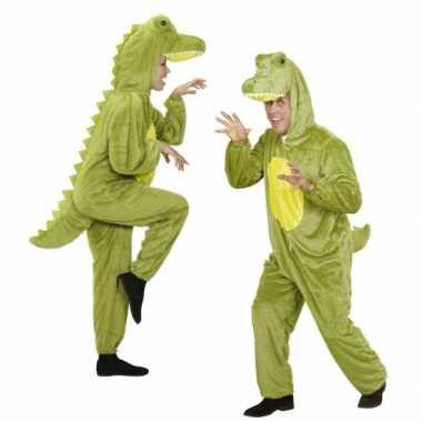 Onesie dierenverkleedkledingken Krokodil tip