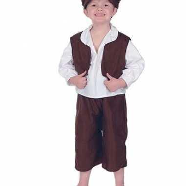 Ouderwets straatjongetjes verkleedkleding tip