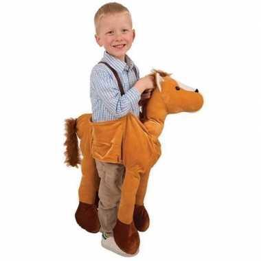 Paard instap verkleedkleding kind tip