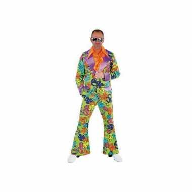 Peace Disco verkleedkleding heren tip