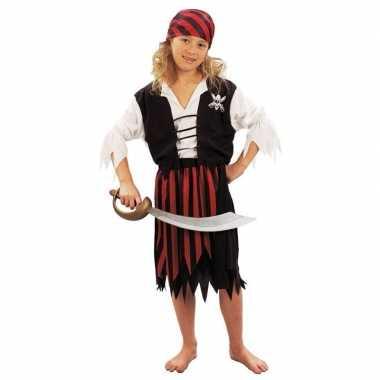 Piraten verkleedkleding een meisje tip
