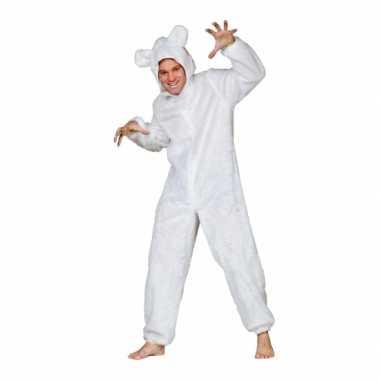 Pluche ijsbeer verkleed verkleedkleding tip