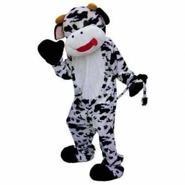 Pluche koeien verkleedkleding deluxe tip