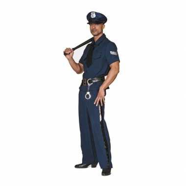 Plus size politie verkleedkleding tip