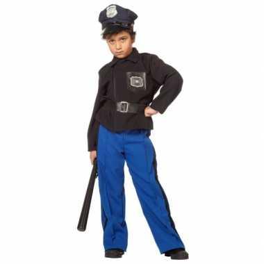 Politie carnavalsverkleedkleding kind tip