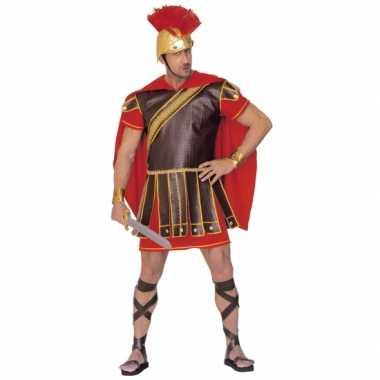Romeinse tijd verkleedkleding rood-bruin tip