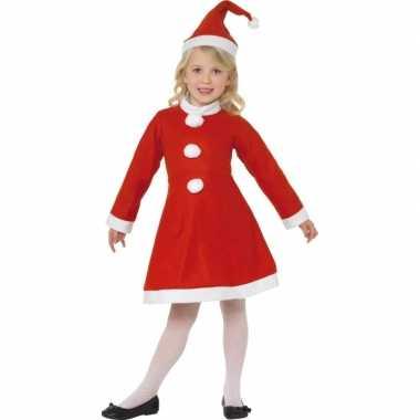 Rood kerst verkleedkleding meisjes tip
