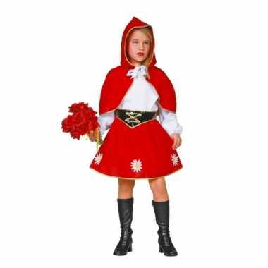 Roodkapje verkleedkleding meisjes tip