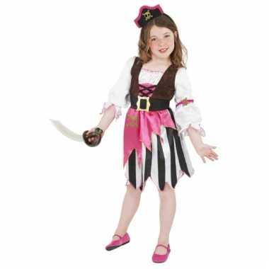 Roze piraten jurk verkleedkleding tip