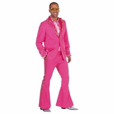 Roze seventies verkleedkledingken mannen tip