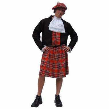 Schotse verkleedkleding heren tip