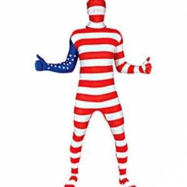 Verkleedkleding verkleedkleding Amerika vlag tip