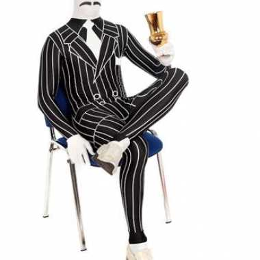 Verkleedkleding verkleedkleding smoking krijtstreep tip