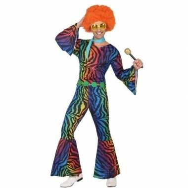 Seventies/disco verkleedkleding heren tip
