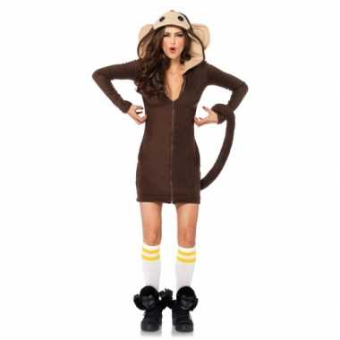 Sexy aap verkleed verkleedkledingje dames tip