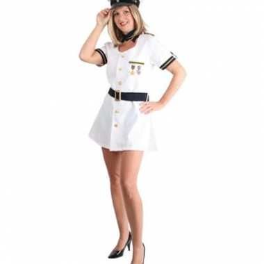 Sexy kapiteinsverkleedkledingje dames tip