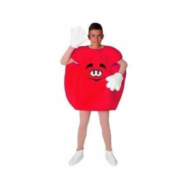 Snoep verkleedkleding rood tip