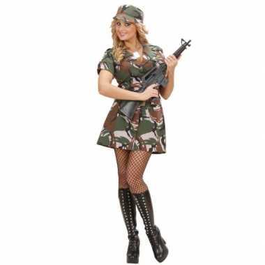 Soldaten verkleedkleding jurkje tip
