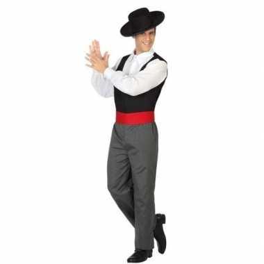 Spaanse flamencodanser verkleed verkleedkleding heren tip