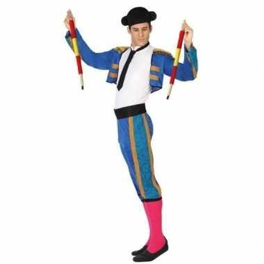 Spaanse matador/stierenvechter verkleed verkleedkleding heren tip