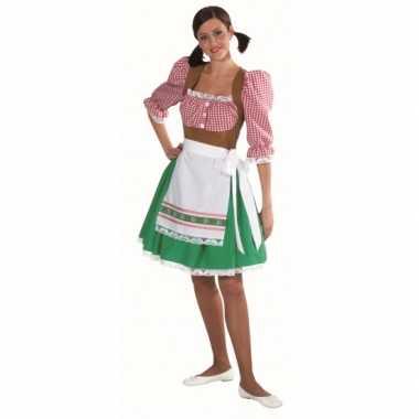 Tiroler verkleedkleding dames tip