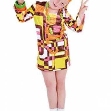 Verkleedkleding  70s meiden jurk tip