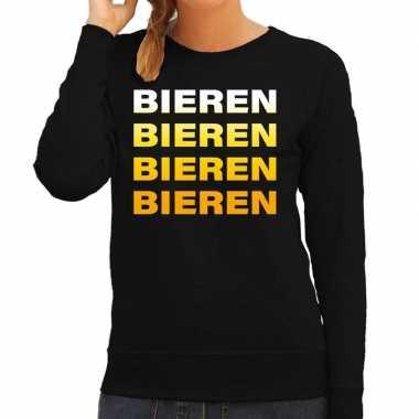 Verkleedkleding bieren bieren bieren bieren sweater zwart dames tip