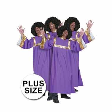 Verkleedkleding  Big size gospel koor jurken tip