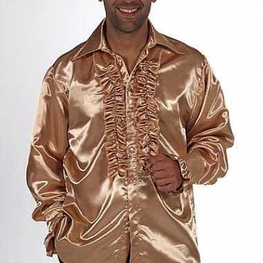Verkleedkleding bling bling overhemd heren tip
