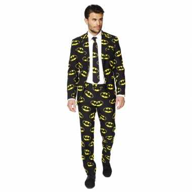 Verkleedkleding  Business suit Batman print tip