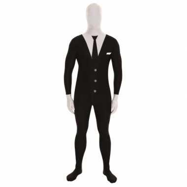Verkleedkleding  Businessman morphsuits zwart tip