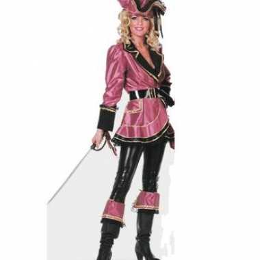 Verkleedkleding  Carnaval piraten jurk dames tip