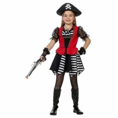 Verkleedkleding  Carnaval piraten jurk meiden tip